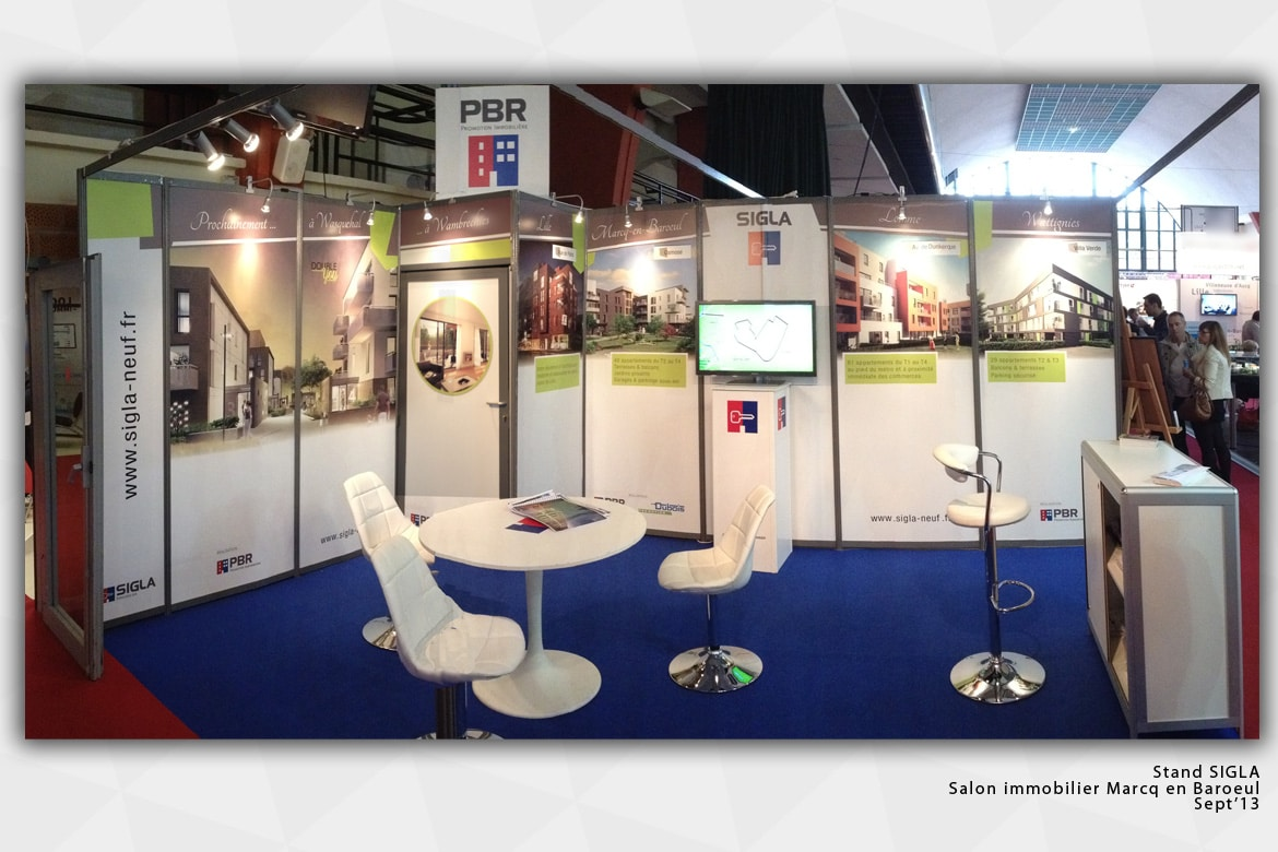 ovm communication stand salon immobilier ovm